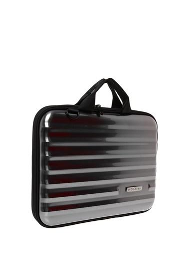 Mosafer Laptop /Evrak Çantası Gri